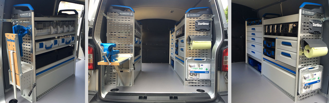Sortino Van Racking