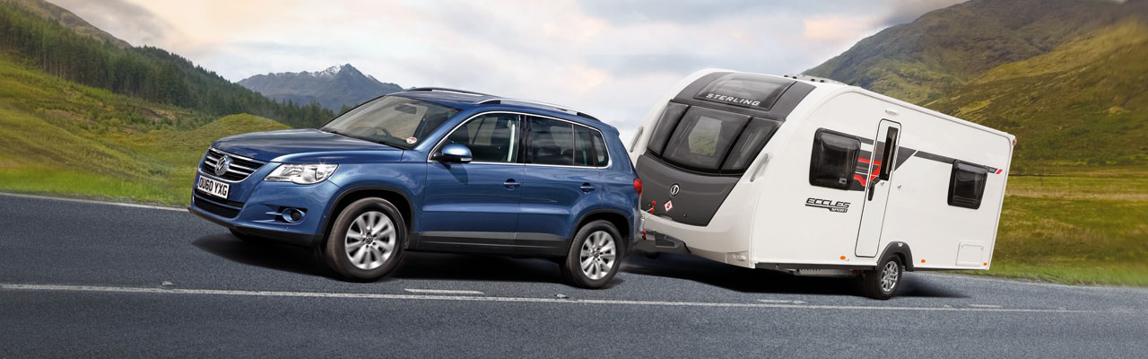 VW Tiguan and Sterling Eccles Sport
